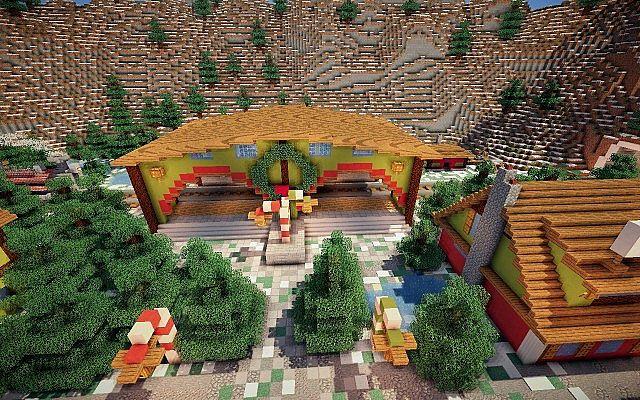 North Pole Christmas Minecraft building ideas 8