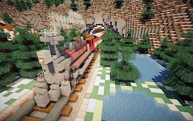 North Pole Christmas Minecraft building ideas 9