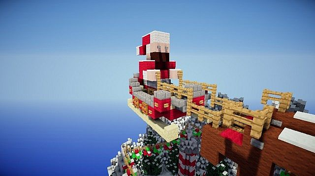 Santa's Workshop merry christmas Special minecraft building ideas 4