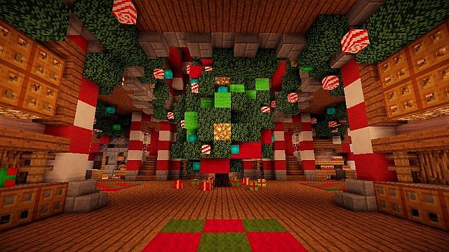 Santa's Workshop merry christmas Special minecraft building ideas 5