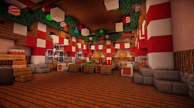 Santa's Workshop merry christmas Special minecraft building ideas 6