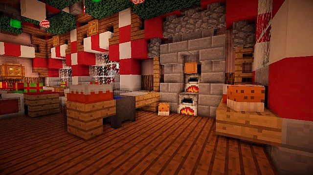 Santa's Workshop merry christmas Special minecraft building ideas 7