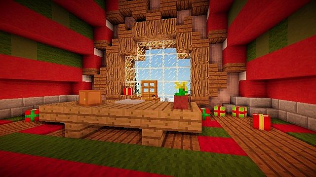 Santa's Workshop merry christmas Special minecraft building ideas 8