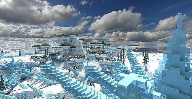 Sharec'Frost | Frost Valley – Minecraft Building Inc Minecraft Crafting Ideas Xbox 360