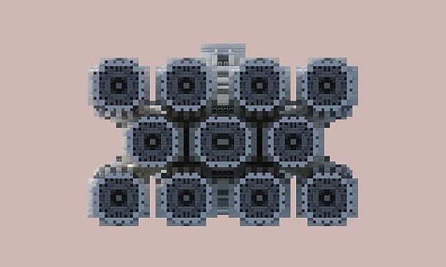 Tantive IV star wars minecraft building ideas 6