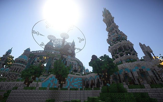 The Halo Of Transcendence minecraft building ideas castle 10