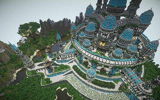 The Halo Of Transcendence minecraft building ideas castle 6