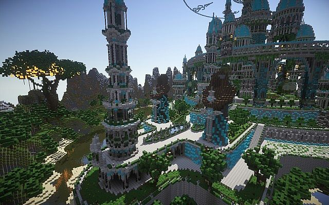 The Halo Of Transcendence minecraft building ideas castle 7