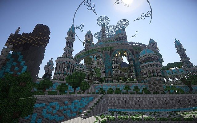 The Halo Of Transcendence minecraft building ideas castle 8