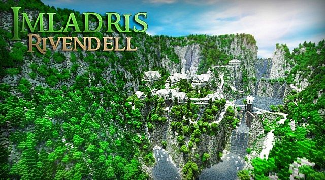 The Valley of Imladris Rivendell minecraft building ideas