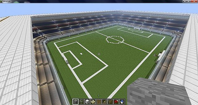 World of stadiums minecraft bulding ideas 13