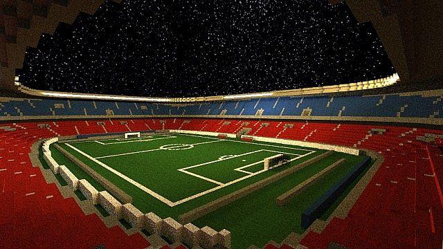 World of Stadiums – Minecraft Building Inc