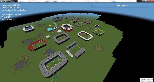 World of stadiums minecraft bulding ideas 2