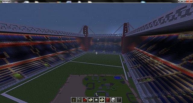 World of stadiums minecraft bulding ideas 4