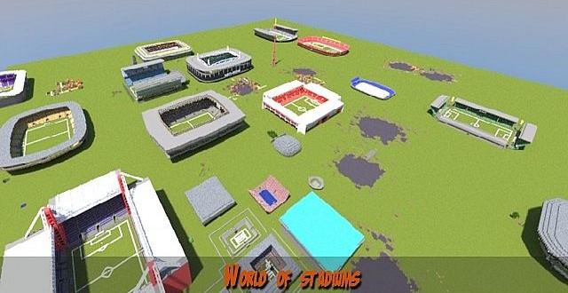 World of Stadiums – Minecraft Building Inc Minecraft Crafting Ideas Xbox 360