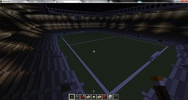 World of stadiums minecraft bulding ideas 7