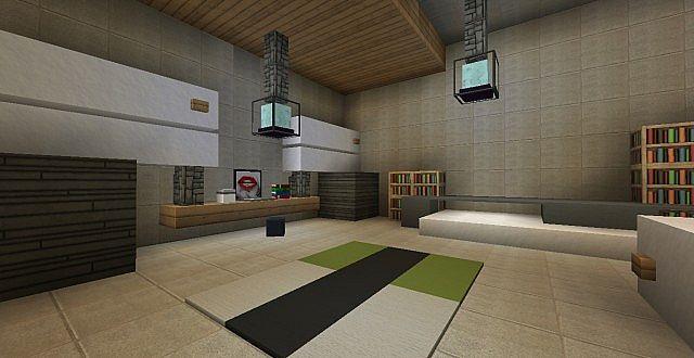 chamonix modern mansion minecraft building ideas house 10