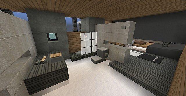 chamonix modern mansion minecraft building ideas house 13