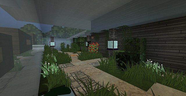 chamonix modern mansion minecraft building ideas house 17