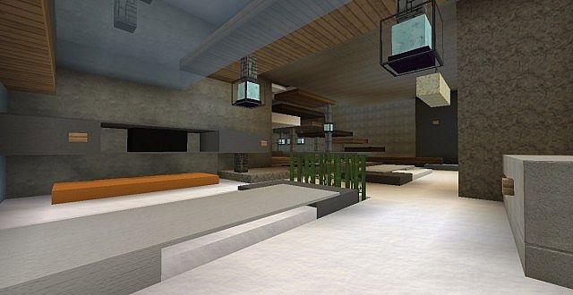 chamonix modern mansion minecraft building ideas house 6