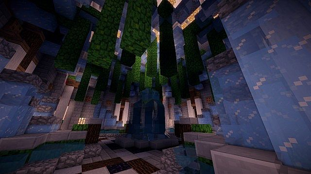 Aedis Floating Temple Minecraft builing ideas 3