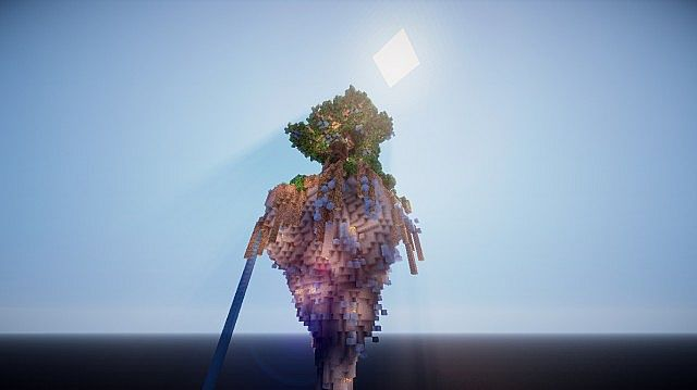Aedis Floating Temple Minecraft builing ideas 4