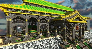 Ba Sing Se Monorail Station Avatar Cartoon minecraft ideas
