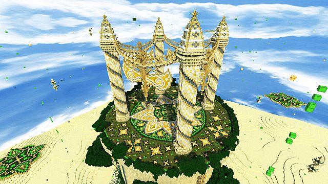 Baischad The Desert Monument 252 Blocks High minecraft building ideas 2