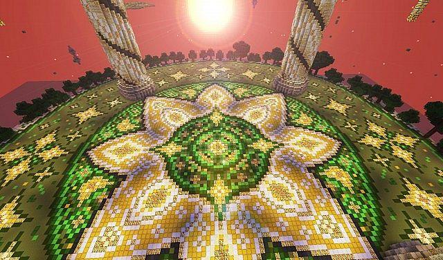 Baischad The Desert Monument 252 Blocks High minecraft building ideas 4
