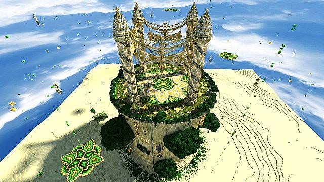 Baischad The Desert Monument 252 Blocks High minecraft building ideas