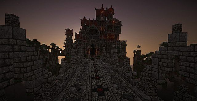 Castle Dravulkan minecraft building ideas 12
