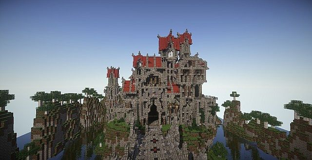 Castle Dravulkan minecraft building ideas 6