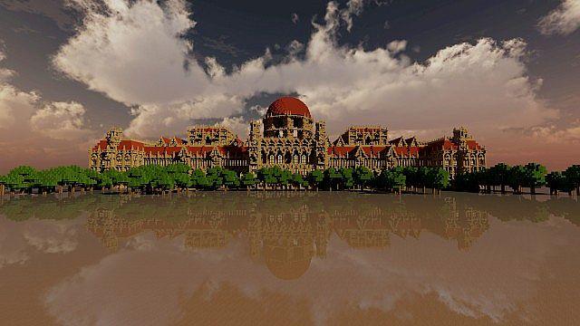 Ceretien Palace Minecraft castle 2