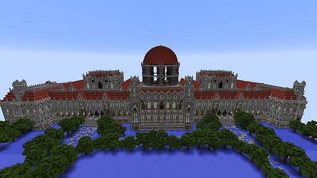 Ceretien Palace Minecraft castle 3