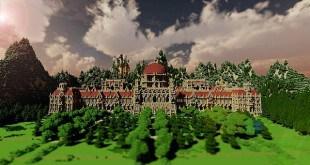 Ceretien Palace Minecraft castle