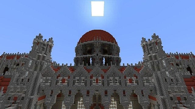 Ceretien Palace Minecraft castle 4