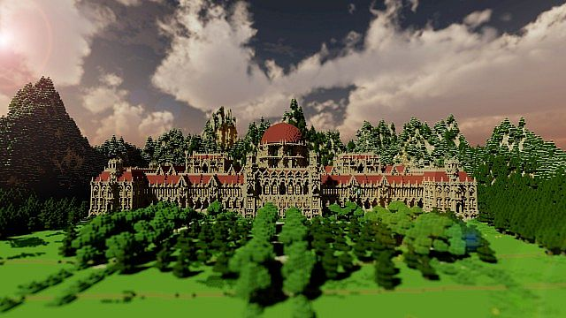 Ceretien Palace Minecraft castle
