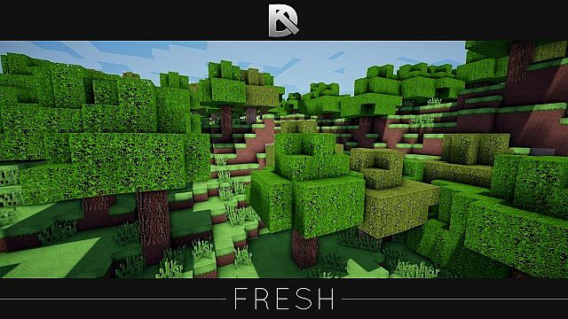 Fresh HD Texture Pack Minecraft 7