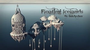 Floating Icelands minecraft building ideas small cathedral