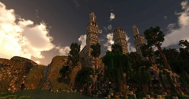 Forest of Enmor minecraft town builing ideas 4