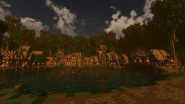 Forest of Enmor minecraft town builing ideas 5