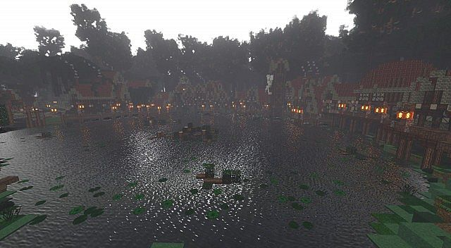 Forest of Enmor minecraft town builing ideas 7