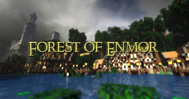 Forest of Enmor minecraft town builing ideas