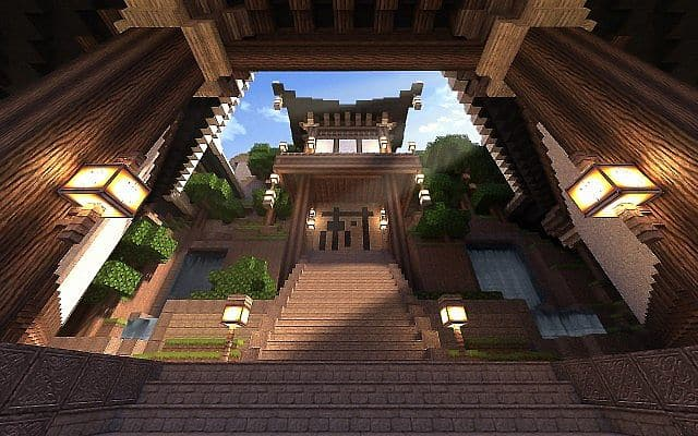 KOR) Oriental of Cantamo minecraft building city ideas 13
