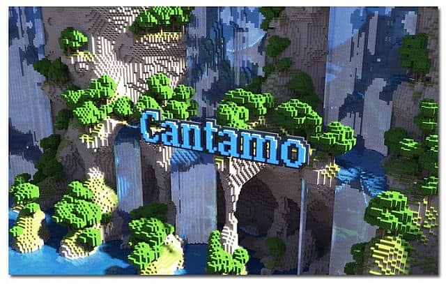 KOR) Oriental of Cantamo minecraft building city ideas 14