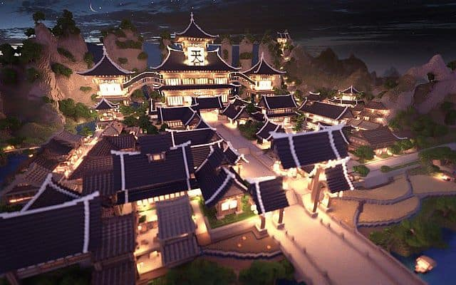 KOR) Oriental of Cantamo minecraft building city ideas 2
