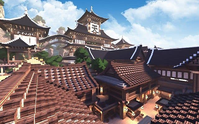 KOR) Oriental of Cantamo minecraft building city ideas 5