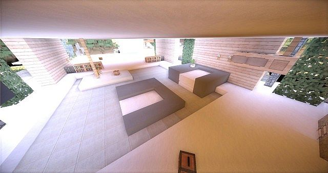 Leafv  Minimalist house Minecraft design building ideas 11