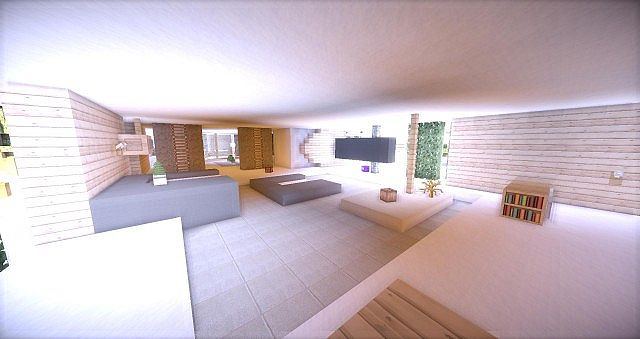 Leafv  Minimalist house Minecraft design building ideas 12