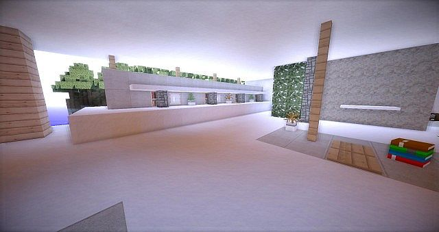 Leafv  Minimalist house Minecraft design building ideas 6
